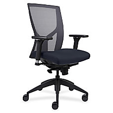 Lorell High Back MeshFabric Chair Dark