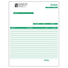 Laser Invoice For QuickBooks 8 12