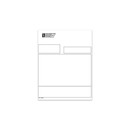 """Laser General Purpose Form For Sage Peachtree®, 8 1/2"""" x 11"""", 1 Part, Box Of 250"""