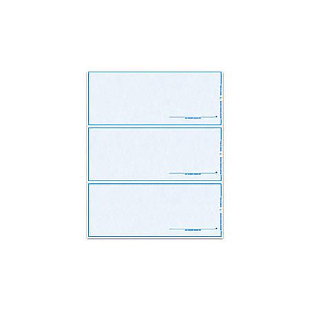 "Custom Laser Draft Checks With Signature, 8 1/2"" x 11"", 1 Part, Box Of 500"