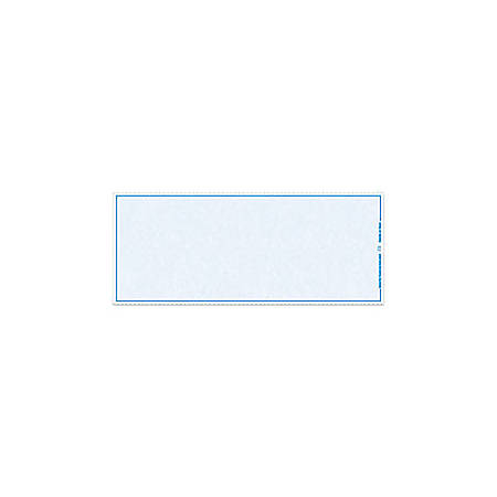 """Blank Check Stock, Laser Check Middle (No Signature), 8 1/2"""" x 11"""", 1 Part, Box Of 500"""