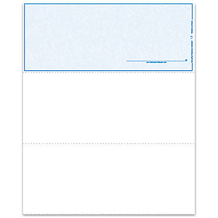 """Laser Check Top (With Signature), 8 1/2"""" x 11"""", 1 Part, Box Of 500"""