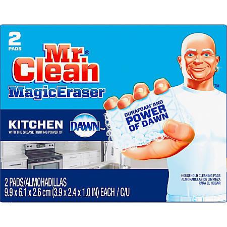 "Mr. Clean Procter & Gamble Magic Eraser Kitchen Scrubber - 2.40"" Width x 3.90"" Length - 24 / Carton"