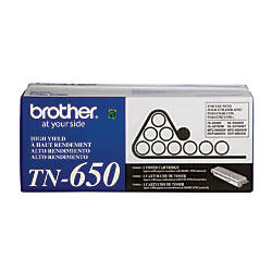 Brother TN 650 High Yield Black
