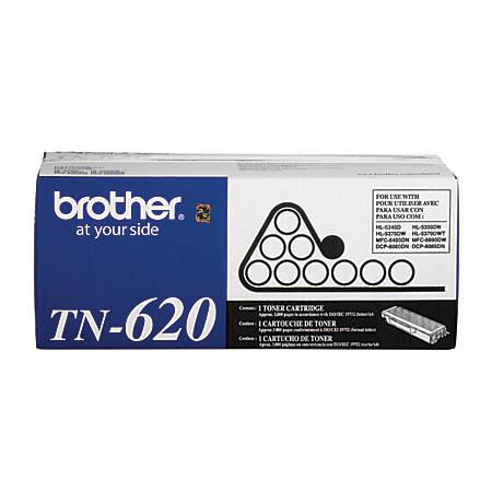 Brother® TN-620 Black Toner Cartridge