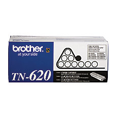 Brother TN 620 Black Toner Cartridge