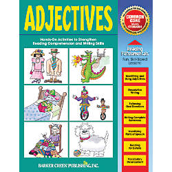 Barker Creek Grammar Activity Book Adjectives