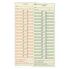 TOPS Time Cards Replaces Original Cards