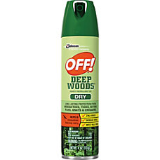 OFF Deep Woods Aerosol Dry Insect