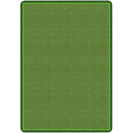 """Flagship Carpets All Over Weave Area Rug, 7' 6"""" x 12', Green"""