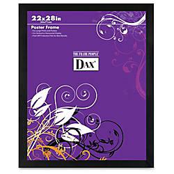 DAX Square Black Poster Frame 22