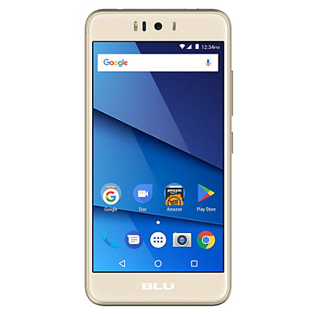 BLU R2 R0171WW Cell Phone, Gold, PBN201294