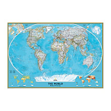 National Geographic Maps World Mural Map