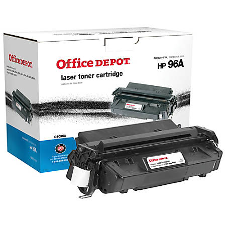 Office Depot® Brand 96A Remanufactured Toner Cartridge Replacement For HP 96A Black