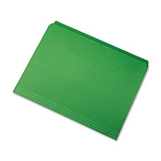 SKILCRAFT Straight Cut Color File Folders