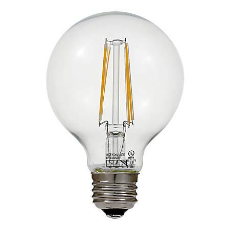 Euri G25 Dimmable 800 Lumens LED Light Bulb, 7 Watt, 2700 Kelvin/Soft White