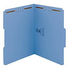Smead Color Reinforced Tab Fastener Folders