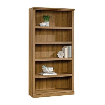 Reale Premium Bookcase 5 Shelf Golden Oak By Office Depot Officemax