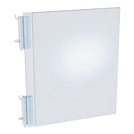 Azar Displays Top-Load Acrylic Sign Holders, Clear, Pack Of 10 Holders