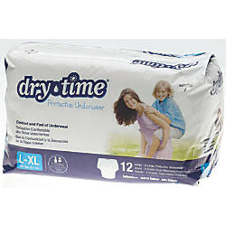 DryTime Disposable Protective Youth Underwear LargeX