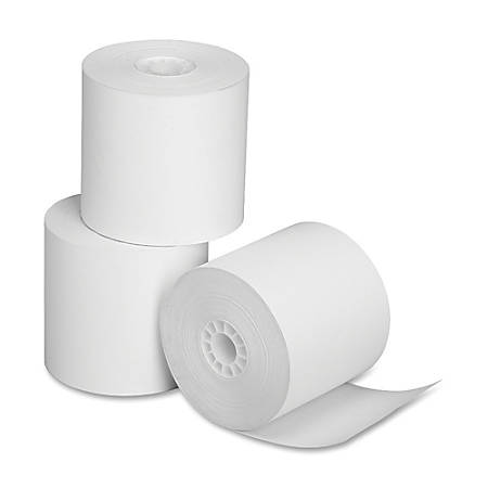 """SKILCRAFT® Thermal Paper Rolls, 2 1/4"""" x 165"""", Pack Of 3"""