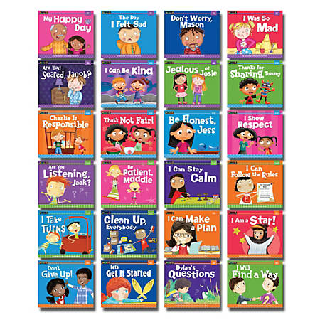 Newmark Learning MySELF Readers Set, Set Of 24 Books