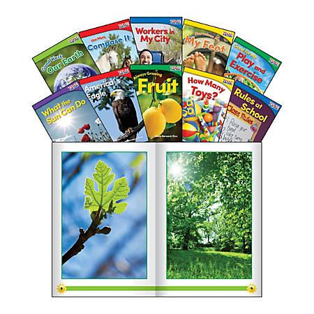 Teacher Created Materials TIME FOR KIDS® Nonfiction Book Set, Set 2, Set Of 10 Books, Kindergarten