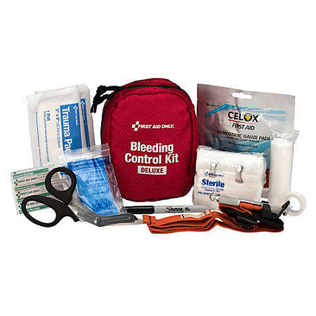 "First Aid Only BBP Spill Cleanup Kit, 7""H x 5""W x 3-1/2""D"