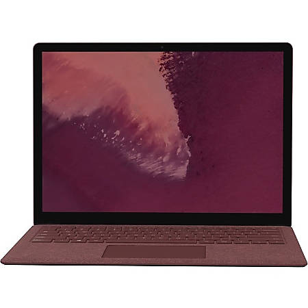 "Microsoft Surface Laptop 2 13.5"" Touchscreen Notebook - 2256 x 1504 - Core i7 - 16 GB RAM - 512 GB SSD - Burgundy - Windows 10 - Intel UHD Graphics 620 - PixelSense - Bluetooth"