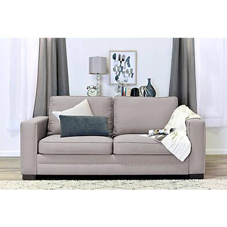Serta Hemsley Sofa, Mushroom