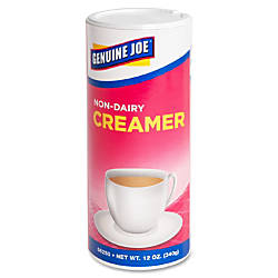 Genuine Joe Nondairy Creamer Canister 075
