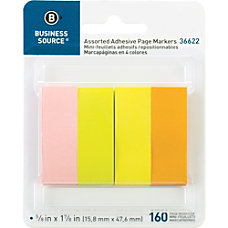 Business Source Removable Page Markers 40