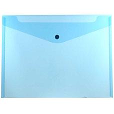 JAM Paper Booklet Plastic Envelopes Letter