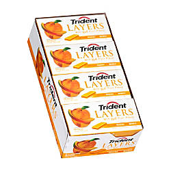 Trident Layers Peach And Mango Gum