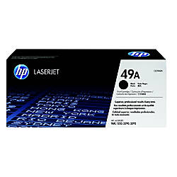 HP 49A Black Original Toner Cartridge
