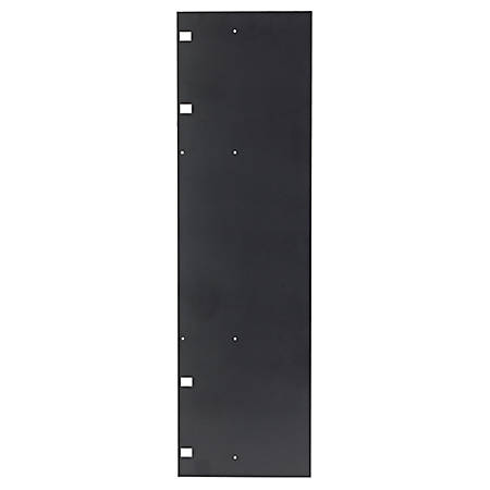 """APC by Schneider Electric End of Row Panel for Single-sided 84"""" Performance Vertical Cable Manager - Black"""