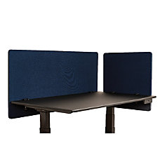 Luxor RECLAIM Acoustic Privacy Desk Panels