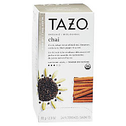 Tazo Organic Chai Tea Box Of
