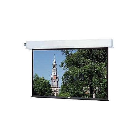 "Da-Lite Large Advantage Electrol 216"" Electric Projection Screen - Yes - 16:9 - Matte White - 106"" x 188"" - Ceiling Mount"