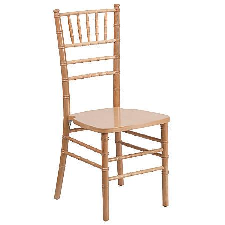 Flash Furniture HERCULES Series Chiavari Chair, Natural