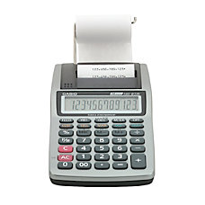 Casio HR 8TM PLUS Printing Calculator