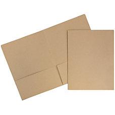 JAM Paper Matte 2 Pocket Presentation