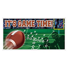 Amscan Football Banner 65 x 33