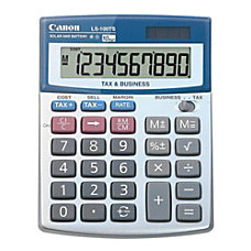 Canon LS 100TS Calculator