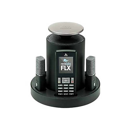Revolabs FLX2 10-FLX2-200-DUAL-VOIP IP Conference Station - VoIP - Caller ID - SpeakerphoneNetwork (RJ-45) - USB