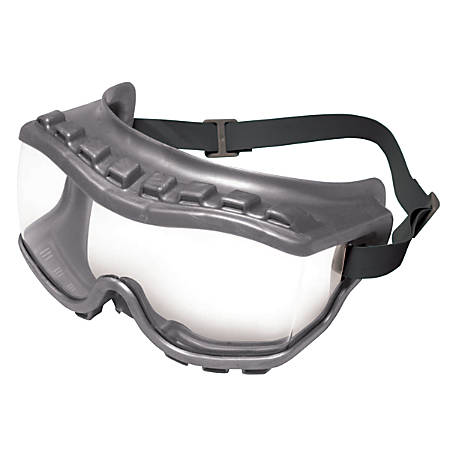 Strategy Goggles, Clear/Gray, Uvextra Antifog Coating, Neoprene, Indirect Vent