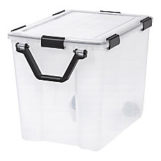 IRIS WEATHERTIGHT Storage Box 103 Quart