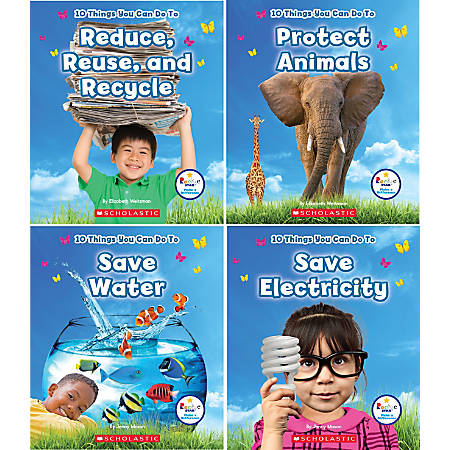 Scholastic Library Publishing Children's Press Rookie Star™ Make A Difference, 4 Book Set