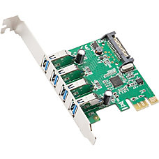 SYBA Multimedia USB30 PCIe Host Controller