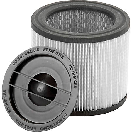 Shop-Vac Ultra-Web Cartridge Filter - 4 / Carton - Blue, Black